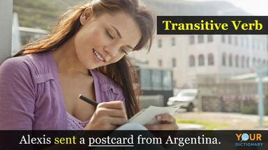 transitive verb example sentence