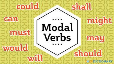 modal verbs list