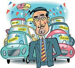 Car salesman as false advertising examples