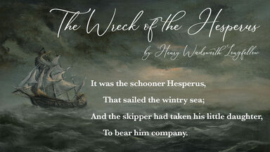 quatrain example The Wreck of the Hesperus