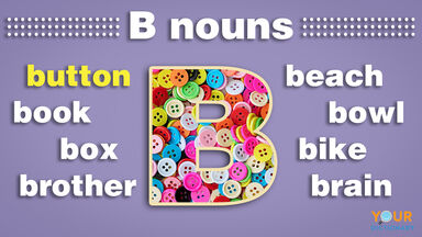 nouns that start with b