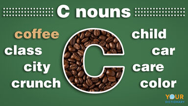 nouns that start with c