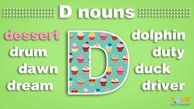 nouns that start with d