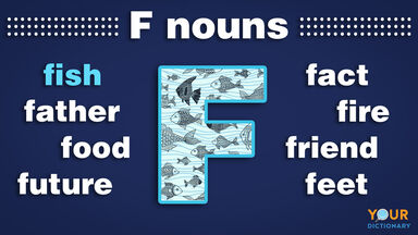 nouns that start with f