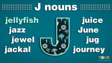 nouns that start with j