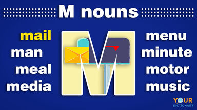 nouns that start with m