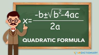 example of quadratic formula