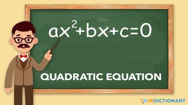 quadratic equation example