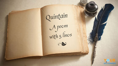 quintain poem with 5 lines poetry