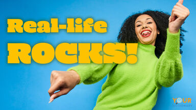 refreshingly funny quote real-life rocks