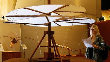 leonardo da vinci invention aerial screw