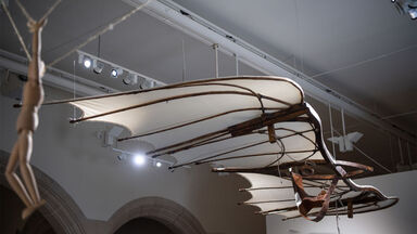 hanging glider invention leonardo da vinci