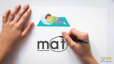 teach phonics word mat