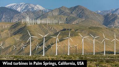 renewable energy wind turbines palm springs california