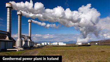 renewable energy geothermal power plant iceland