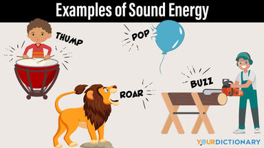 examples of sound energy