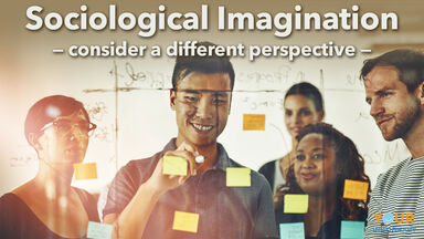sociological imagination employees teamwork idea
