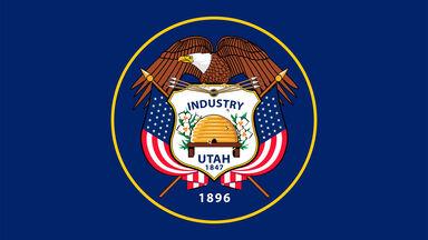 Utah flag beehive state