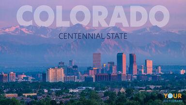 denver colorado landscape centennial state