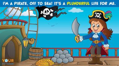 pirate pun plunderful life