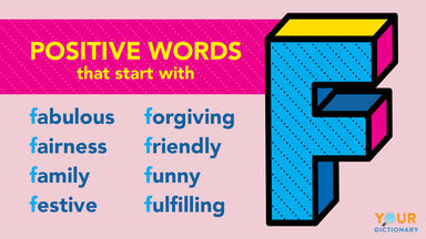 Positive Word F examples
