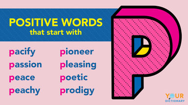 Positive P words examples