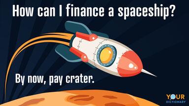 space pun finance a space ship