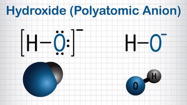 hydroxide polyatomic anion