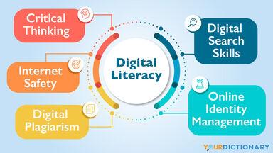 Digital Literacy infographic