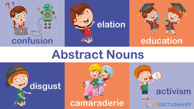 kids activities as example abstract nouns