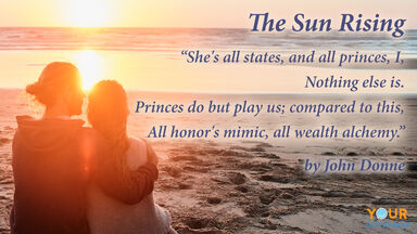 quote the sun rising john donne