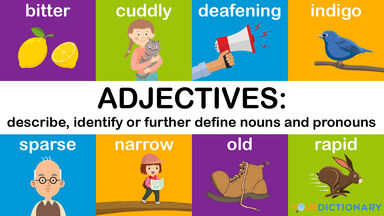 adjectives definition chart