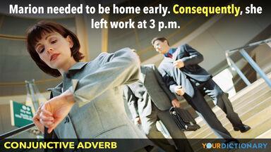 conjunctive adverb sentence