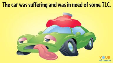 Suffering green car needing TLC
