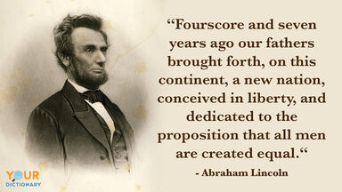 Abraham Lincoln Quote Example