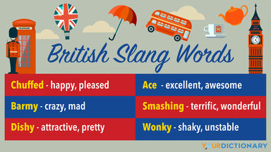 British Slang Words With Definitions