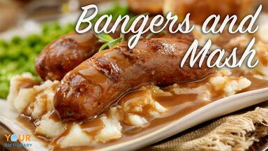 British slang bangers and mash