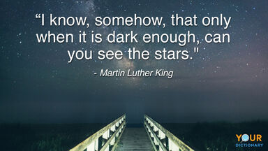 Darkness Quote Martin Luther King