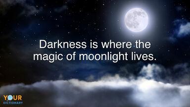 Darkness Quote moonlight