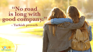 Friendship Quote good company