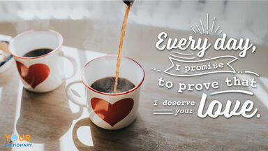 Love Quote Coffee