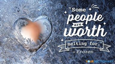 Love Quote Frozen