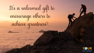 Climbers as Welcome Quote