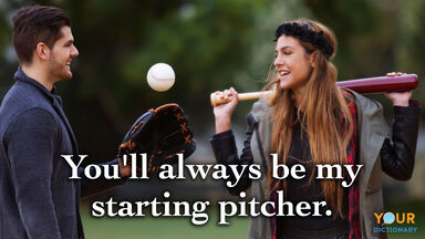 love quote starting pitcher