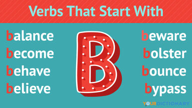Verbs That Start With B