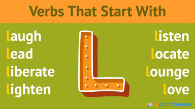 Verbs That Start With L