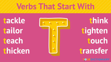 Verbs That Start With T