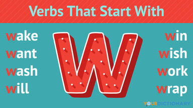 Verbs That Start With W
