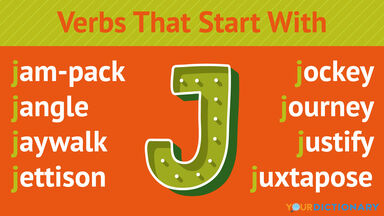 Verbs That Start With J