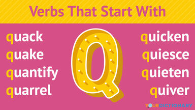 Verbs That Start With Q